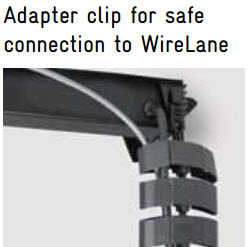 EVOline FlipTop Push WireLane connector