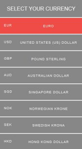Currency - EVOlineStore