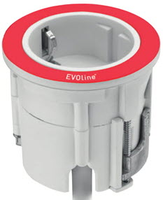 EVOline One mounting Upholstery