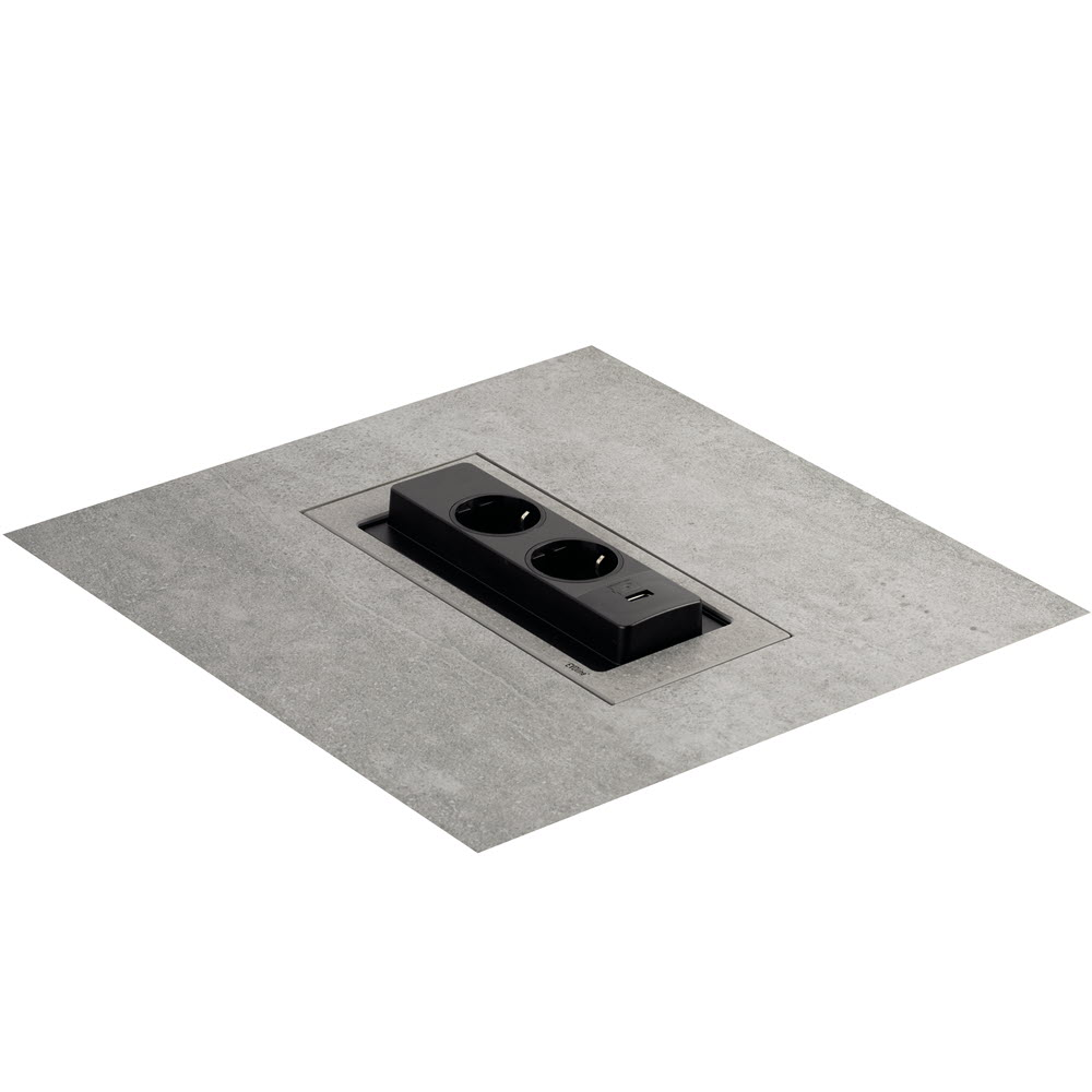 EVOline Backflip natural stone composite, comes with a cement-like color and structure, open - EVOlineStore