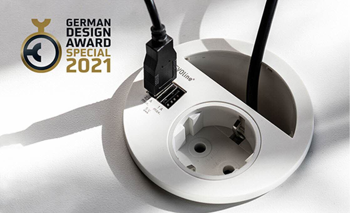 """Featured image for """"EVOline Circle80 wins German Design Award Special 2021!"""""""
