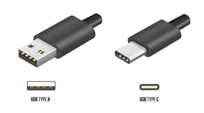 USB Type-A + USB Type-C connectors - EVOlineStore