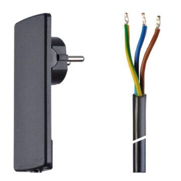 EVOline Plug cable Black - EVOlineStore