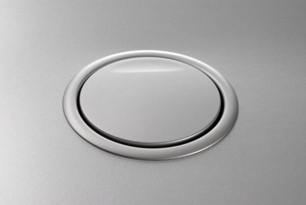 EVOline Port USB Charger / Silver / 1x USB / 2x power socket-2506