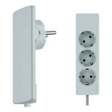 EVOline Plug Socket Rail White