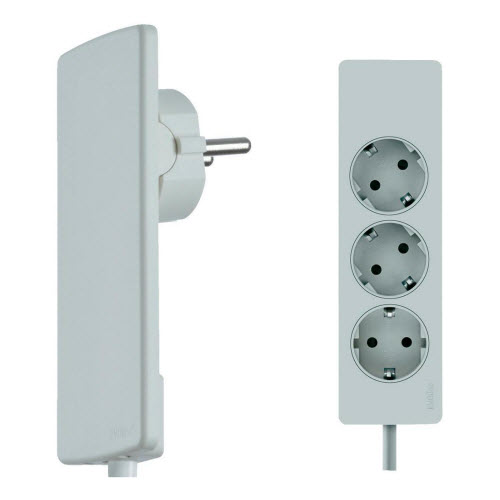 EVOline Plug Socket Rail White