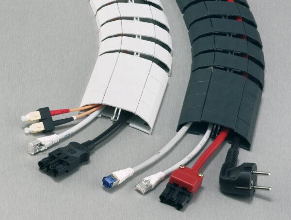 EVOline Wirelane Kabelgoot / vloergoot / kabelkanaal / Zwart-2080