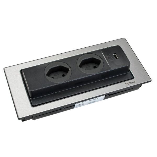 EVOline Backflip - Swiss power sockets - EVOlineStore