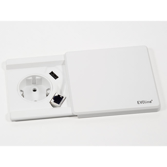 EVOline Square80 White