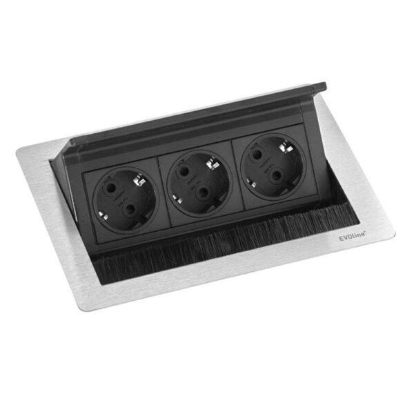 EVOline FlipTop Push S - stainless steel - EVOlineStore