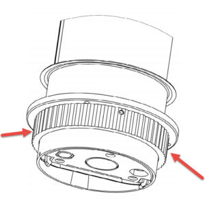 EVOline Port replacement Lock Nut / Lock Ring-0