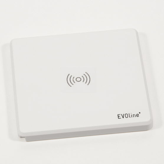EVOline Square White Qi-charger- EVOlineStore