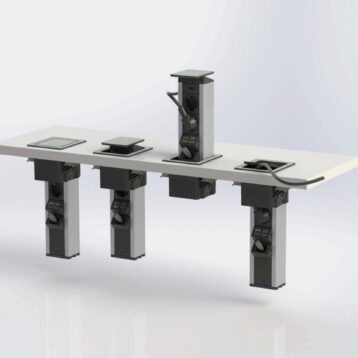 EVOline Port Push / 2x pop up socket-3304
