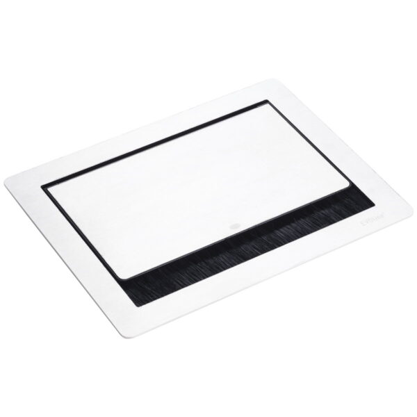 EVOline Fliptop Push S / Netbox 3x power socket / White painted-3427