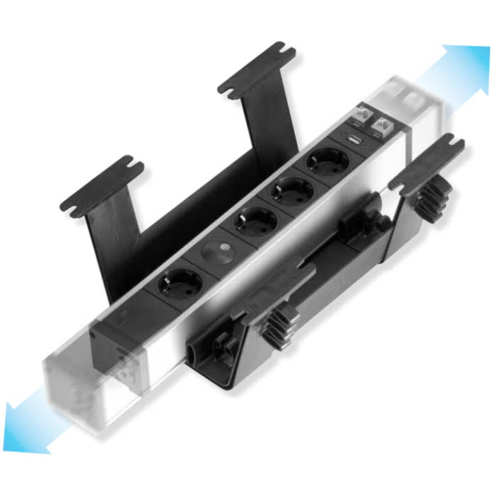 EVOline Rail brackets and profiles