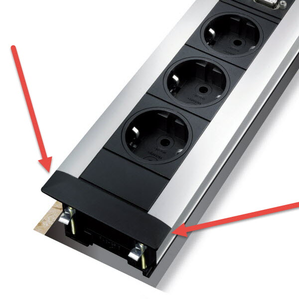 EVOline FrameDock side-screw cover - EVOlineStore
