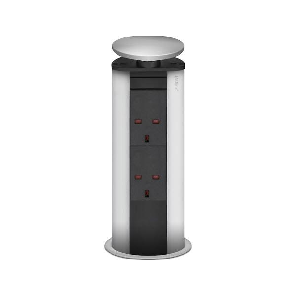 EVOline Power Port silver 2x (UK style) - EVOlineStore