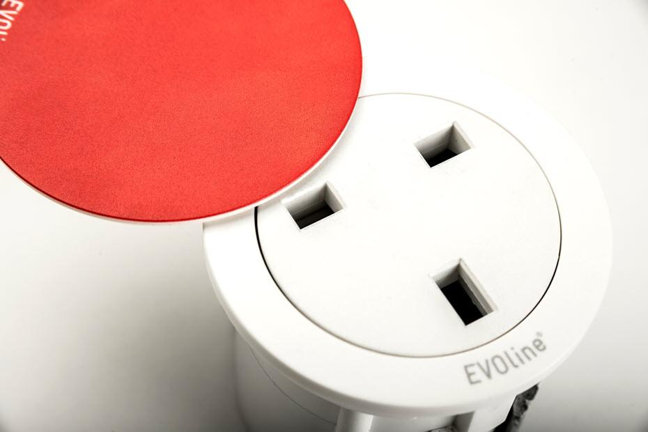 EVOline One - UK socket red - EVOlineStore