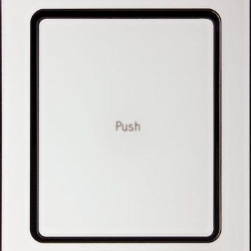 EVOline Port Push White Glass top - EVOlinestore
