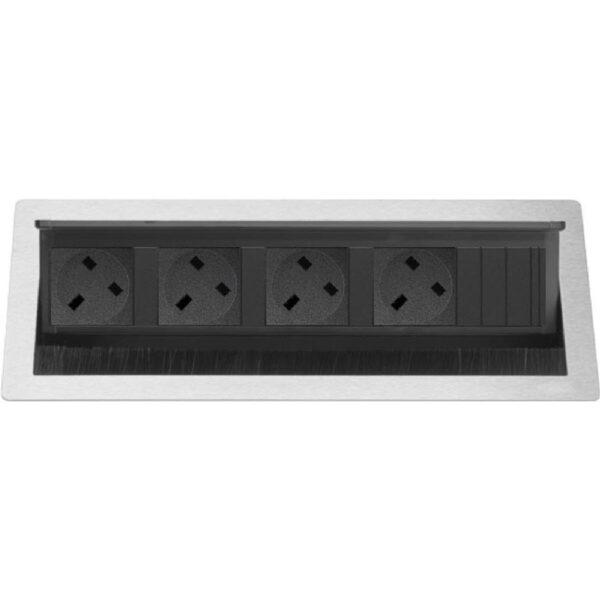EVOline Fliptop Push L 4x UK power sockets nw - EVOlineStore