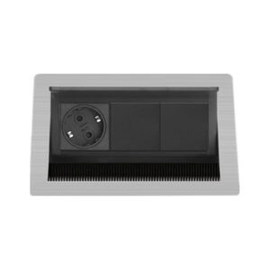 EVOline Fliptop Push S-1-2 1x power sockets, 2x empty slot - EVOlineStore