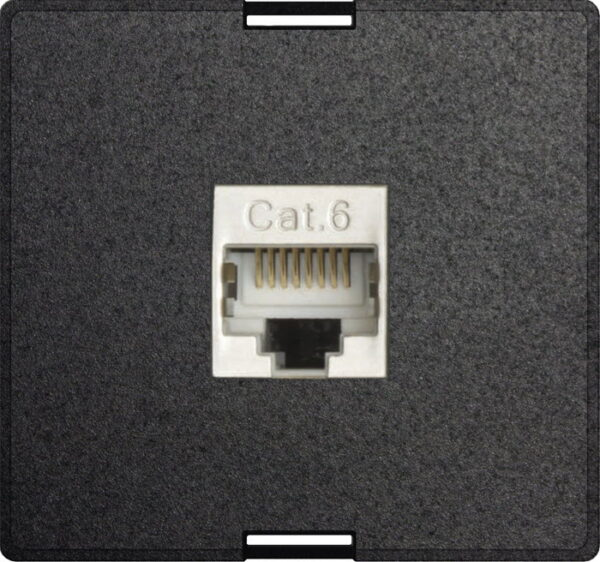 Exchangeable module 1x RJ45 modular CAT6 full