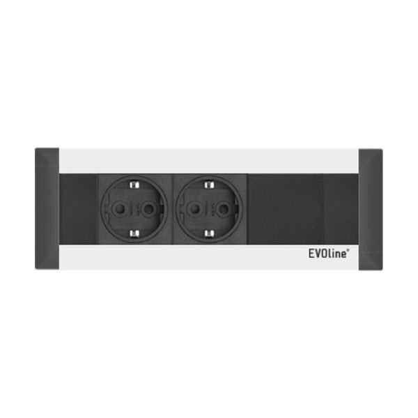 EVOline FrameDock - 2x VDE 1x Free slot - EVOlineStore