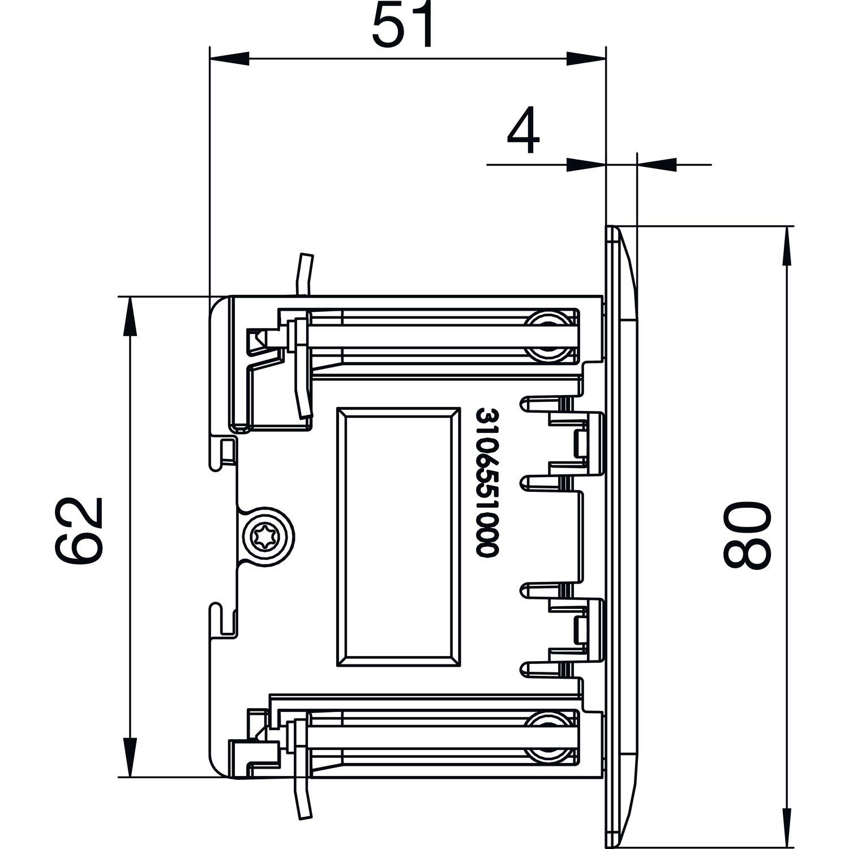 EVOline FrameDock - Dimensions - EVOlineStore