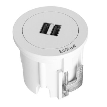 EVOline One - double charger white cover ring - EVOlineStore
