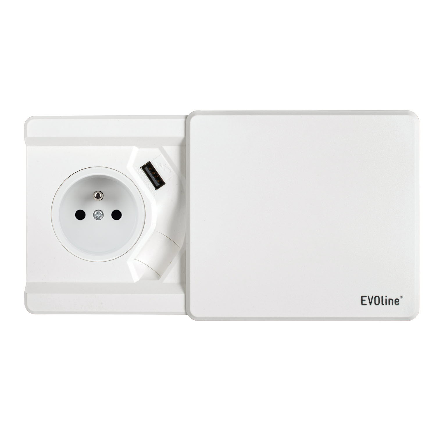 EVOline Square 80 (BF) white B-F - EVOlineStore