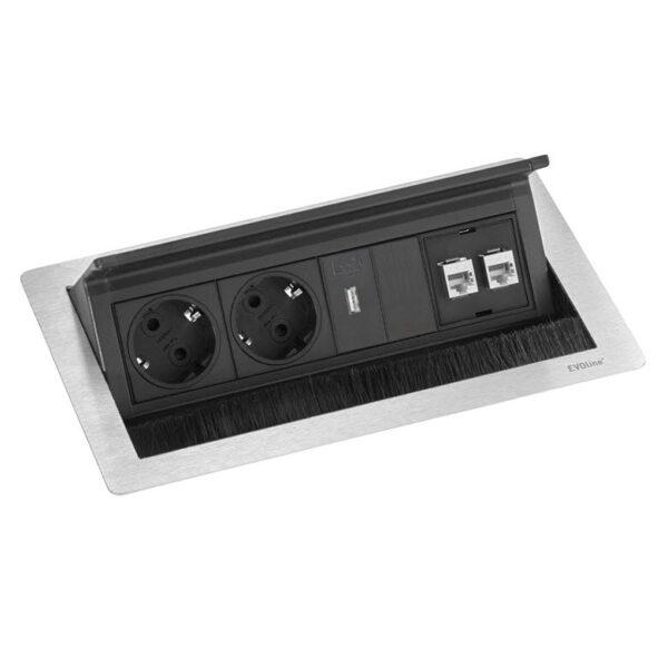 EVOline Fliptop Push Data M charger - EVOlineStore