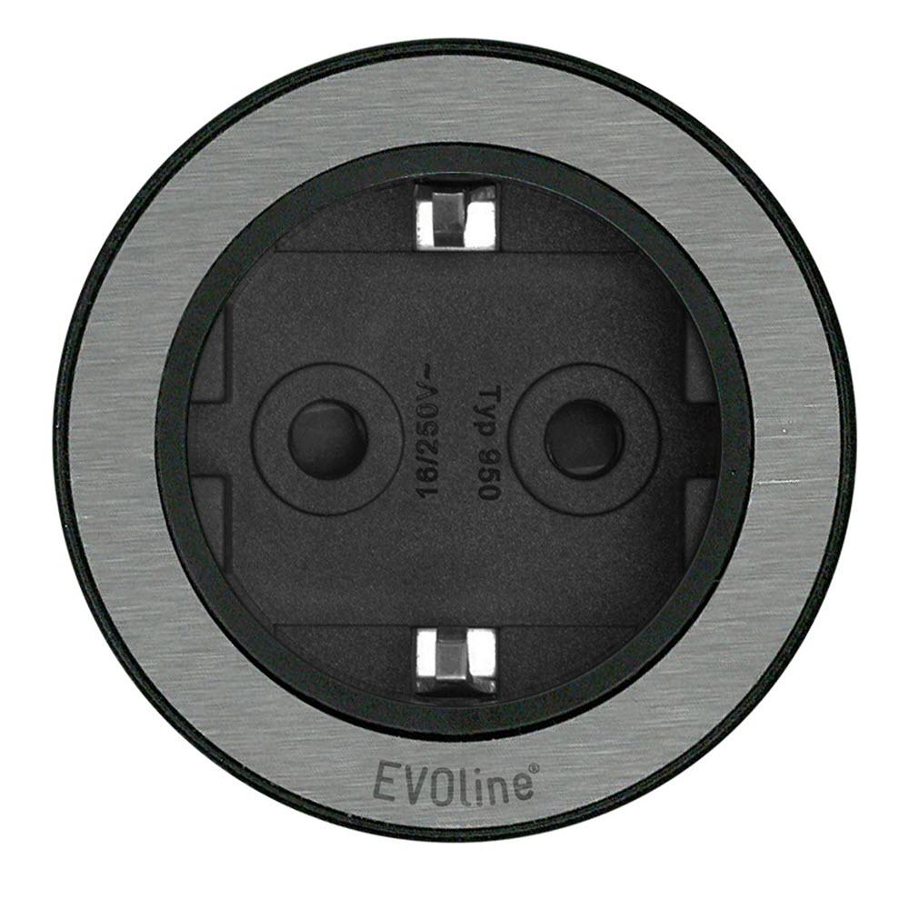EVOline One - VDE socket Stainless Steel - EVOlineStore