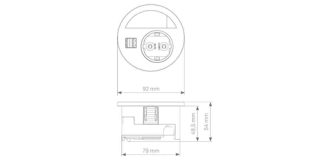 EVOline Circle80 sizes - EVOlineStore