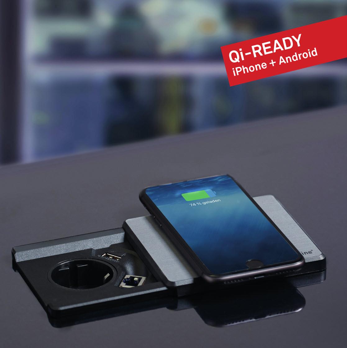 EVOline Square80 Qi-ready - EVOlineStore