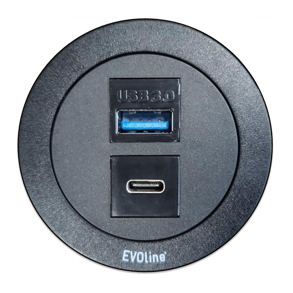 """Featured image for """"EVOline One / USB-A 3.0 / USB-C 3.1 / multimedia"""""""