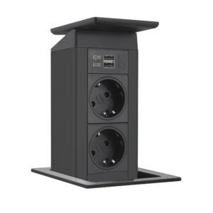 EVOline Port Push 2x power - black - EVOlineStore