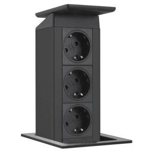 EVOline Port Push 3x power - black - EVOlineStore