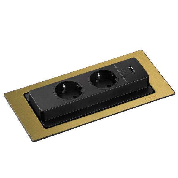 EVOline Backflip brass inlay open - EVOlineStore
